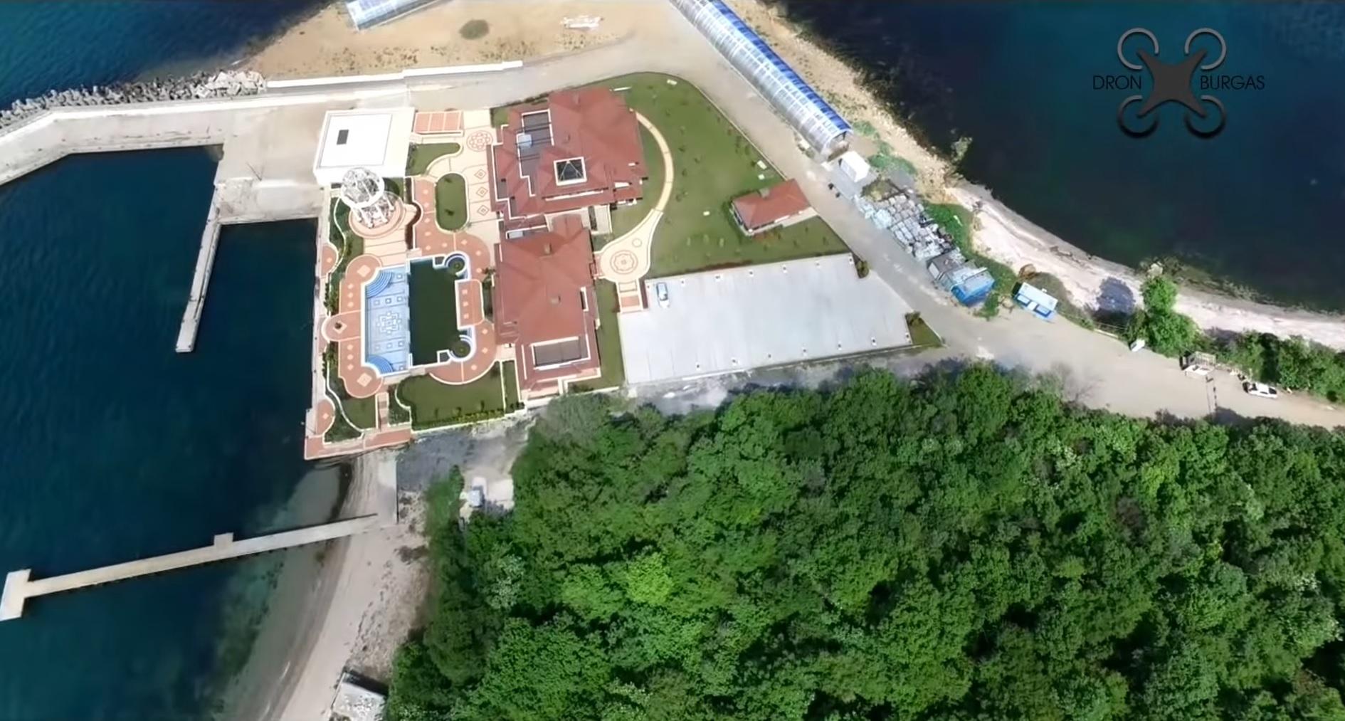 Резиденцията на Доган с дрон